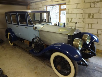 Lot 26 - 1925 Rolls-Royce Springfield Silver Ghost Berwick Sedan