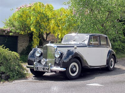 Lot 19-1951 Bentley MK VI Saloon