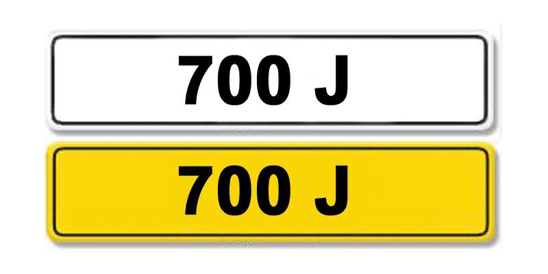 Lot 4-Registration Number 700 J