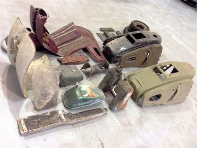 Lot 1-Assorted Scooter Parts