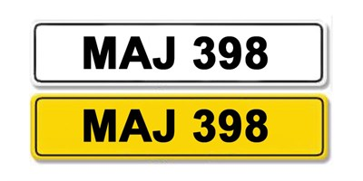 Lot 2 - Registration Number MAJ 398