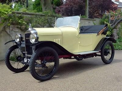 Lot 20-c.1923 Amilcar Type CC