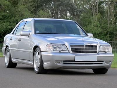 Lot 25 - 1999 Mercedes-Benz C43 AMG
