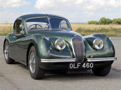 Lot 143-1954 Jaguar XK120 Fixed Head Coupe