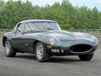 Lot 144-1969 Jaguar E-Type 3.8 Lightweight Roadster Evocation