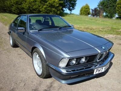 Lot 69-1982 BMW 635 CSi