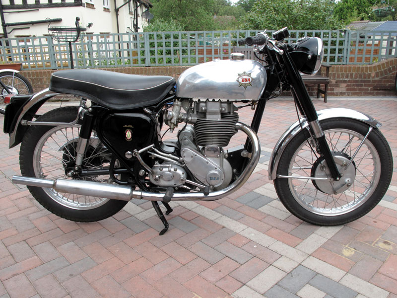 Lot 67-1954/59 BSA Gold Star