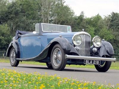 Lot 63-1935 Bentley 3.5 Litre Drophead Coupe