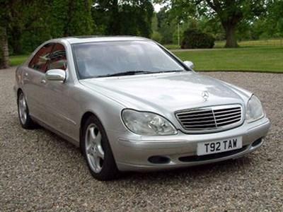 Lot 90 - 1999 Mercedes-Benz S 500