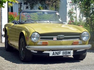 Lot 3 - 1974 Triumph TR6