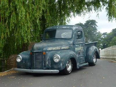 Lot 52-1946 International Harvester KB7 Pickup