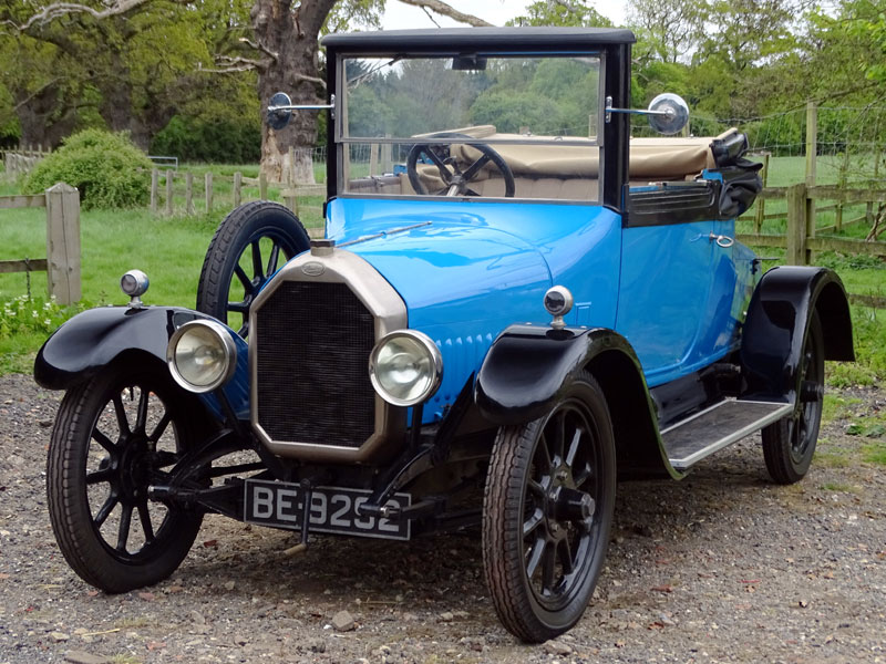 Lot 24-1921 Humber 11.4hp Doctors Coupe