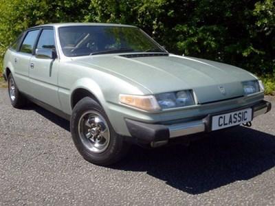 Lot 5 - 1980 Rover SD1 3500