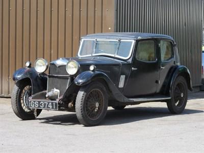 Lot 65-1933 Riley 12/6 Kestrel