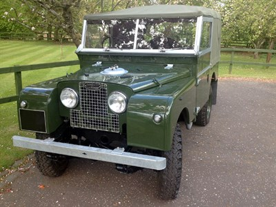 Lot 42-1957 Land Rover 88
