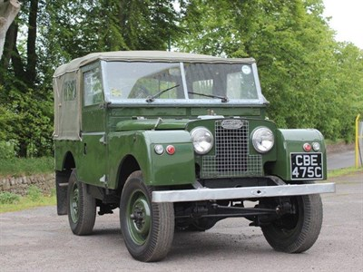 Lot 26-1955 Land Rover 86