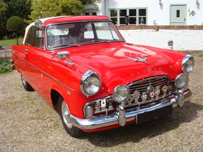 Lot 13-1958 Ford Zephyr MKII Convertible