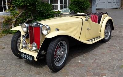 Lot 25-1937 MG TA