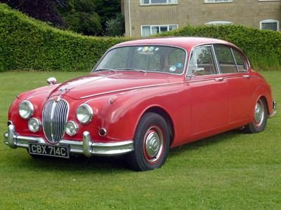 Lot 128-1965 Jaguar MK II 3.4 Litre
