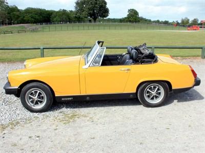 Lot 48 - 1979 MG Midget 1500