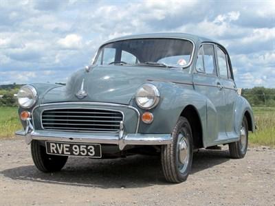 Lot 28-1957 Morris Minor 1000