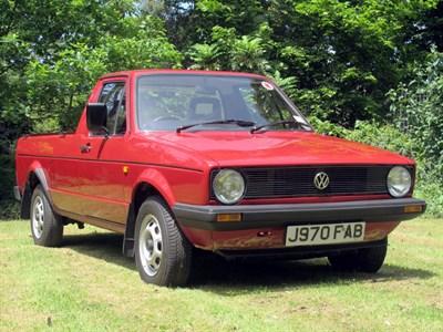 Lot 29-1992 Volkswagen Caddy 1.6