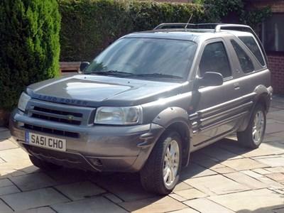 Lot 72 - 2001 Land Rover Freelander 2.5 V6i ES