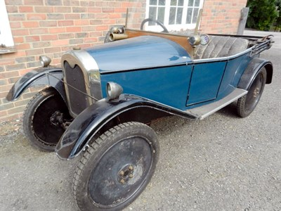 Lot 32-1924 New Carden Light Car