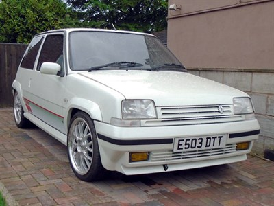 Lot 37-1988 Renault 5 GT Turbo