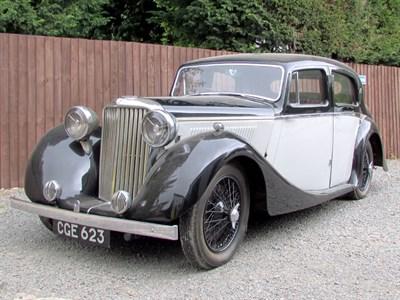 Lot 33-1939 SS Jaguar 1.5 Litre Saloon