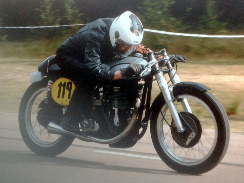Lot 52-1956 Norton Manx 30M