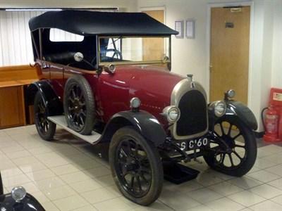 Lot 46-1923 Bean 11.9hp Tourer