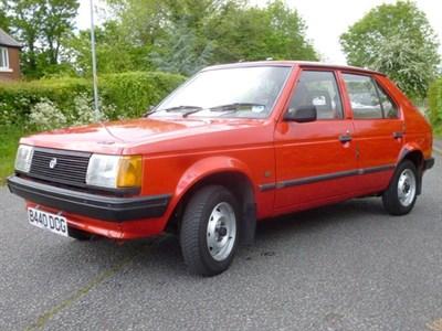 Lot 10 - 1985 Talbot Horizon 1.3 LS