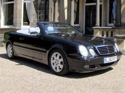 Lot 56 - 2002 Mercedes-Benz CLK 200 Kompressor Convertible