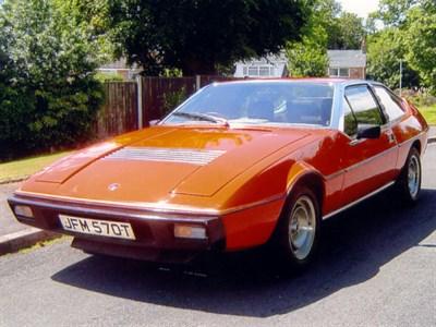 Lot 8 - 1978 Lotus Eclat 521