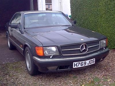 Lot 63 - 1991 Mercedes-Benz 500 SEC