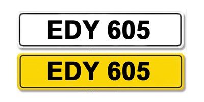 Lot 3 - Registration Number EDY 605