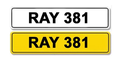 Lot 1 - Registration Number RAY 381