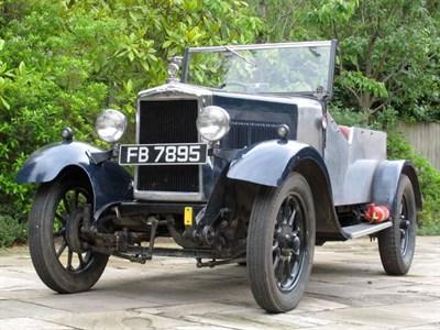 Lot 50 - 1929 Morris Cowley Trials Special