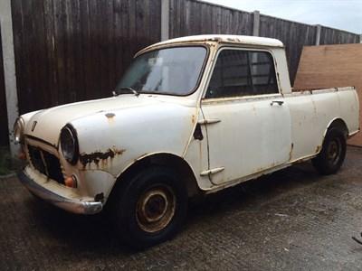 Lot 1 - 1978 Morris Mini 1000 Pickup