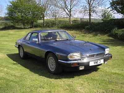 Lot 74 - 1982 Jaguar XJ-S 5.3 HE
