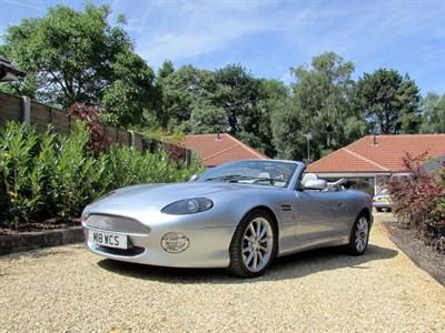Lot 85 - 2001 Aston Martin DB7 Vantage Volante