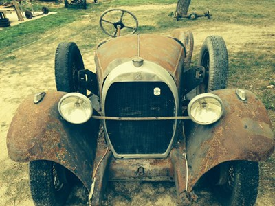Lot 49 - 1927 Hotchkiss AM2 Rolling Chassis