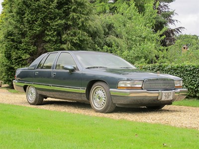 Lot 13-1992 Buick Roadmaster Limited