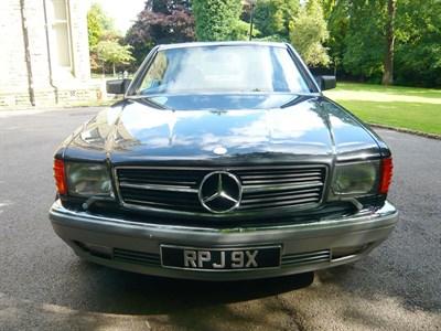 Lot 46 - 1986 Mercedes-Benz 560 SEC