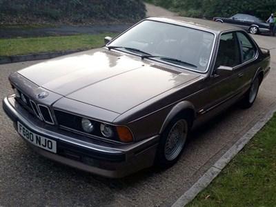 Lot 45 - 1989 BMW 635 CSi 'Highline'