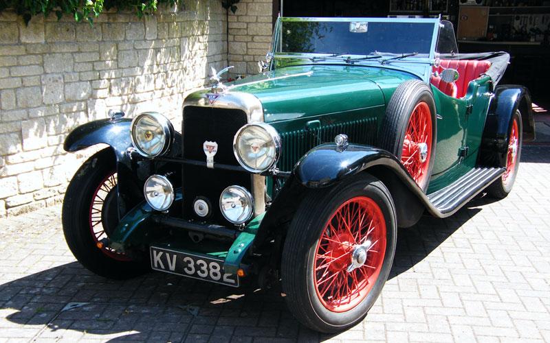 Lot 129 - 1932 Alvis Firefly Tourer