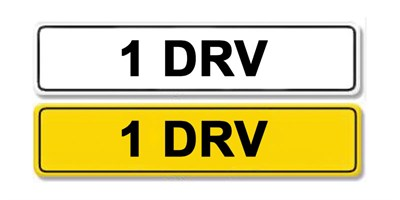 Lot 11 - Registration Number 1 DRV