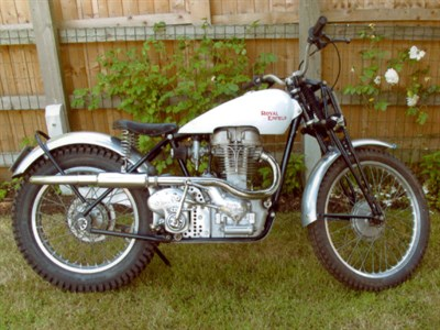 Lot 66-1939 Royal Enfield Bullet 'Competition'