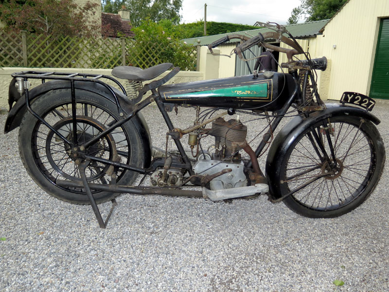 Lot 19-1922 Quadrant 500cc